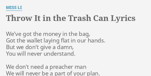 i don t need a man miss a lyrics