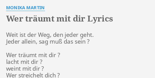 Sag dir lyrics