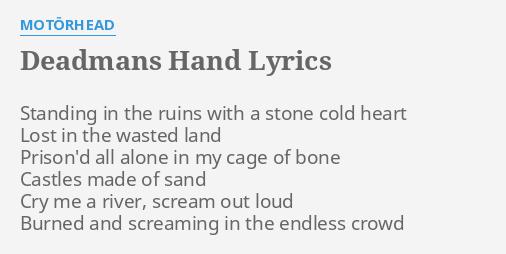 DEADMANS HAND