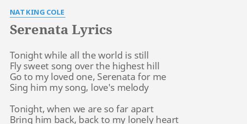 song lyrics for him