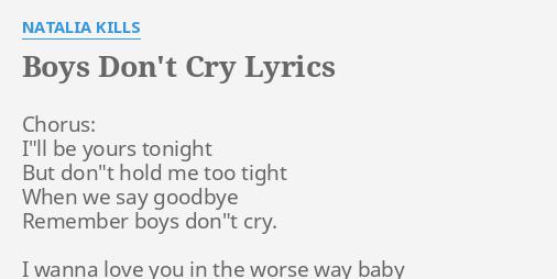 If you say goodbye to me tonight lyrics