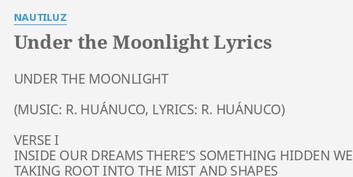 Moonlight Lyrics