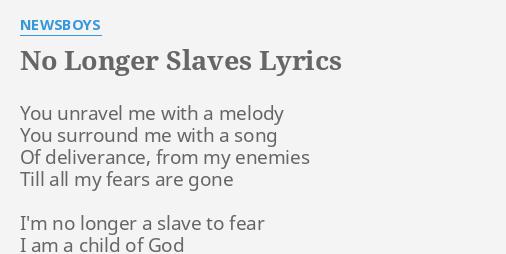 Slaves Lyrics