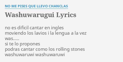 No Me Llevo Chanclas Que Pises Washuguarugui eWY2EDHIb9