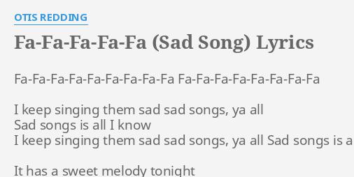 sweet sad songs