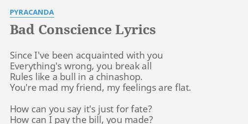 acquainted lyrics