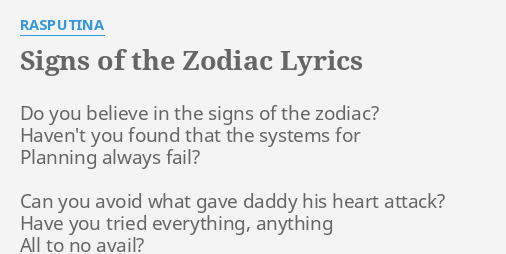 Do You Believe In Zodiac Signs