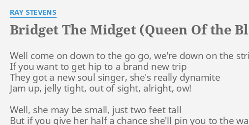 Bridget midget queen blues