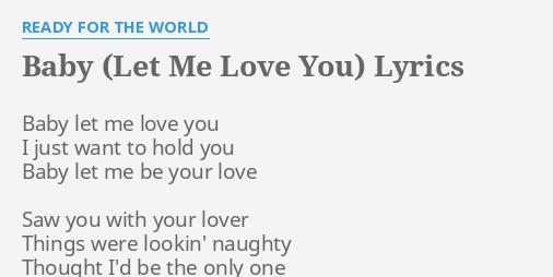 Things me love lyrics