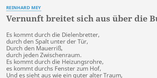 liebe oder vernunft bundesrepublik deutschland