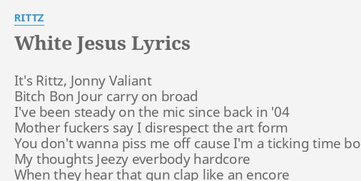rittz white jesus lyrics