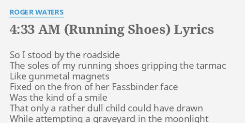 4 33 AM (RUNNING SHOES)