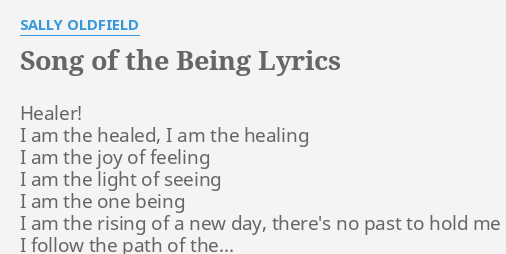 I am healed song