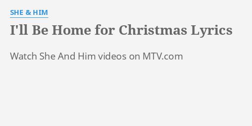 私は彼女と彼のクリスマスのために家にいます