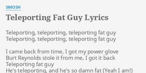 Teleporting Black Guy