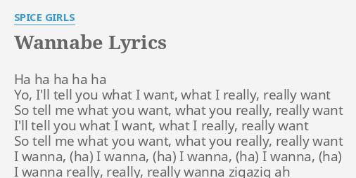 Spice girls wannabe lyrics cumshot images 88