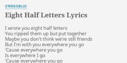 were still friends lyrics