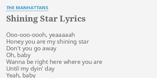 shining star manhattans