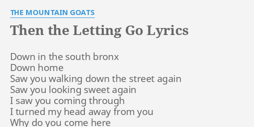 why do you come here lyrics