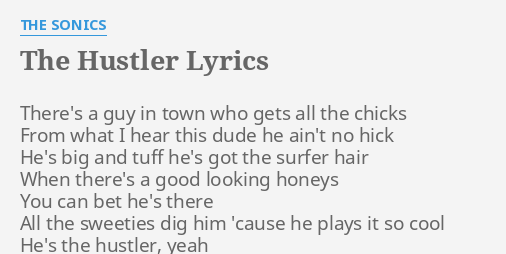 The hustler lyrics
