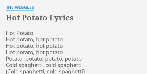 Little potato lyrics simpson