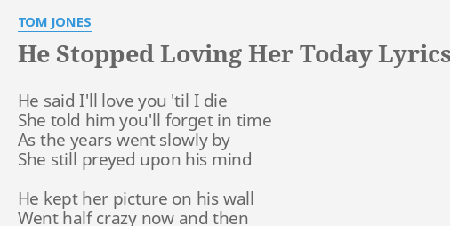 i love you today lyrics