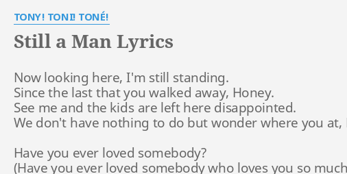 whatever you want tony toni tone lyrics