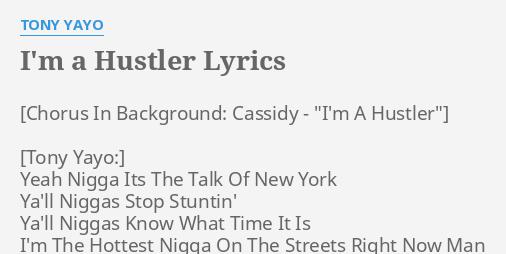 Hustler im lyric