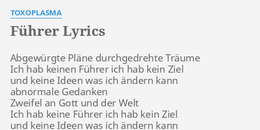 pläne lyrics