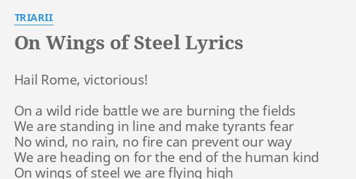 burning rome lyrics