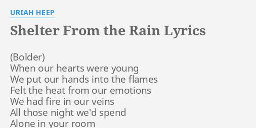 Uriah Heep Rain Lyrics Billedgalleri - whitman gelo-seco info