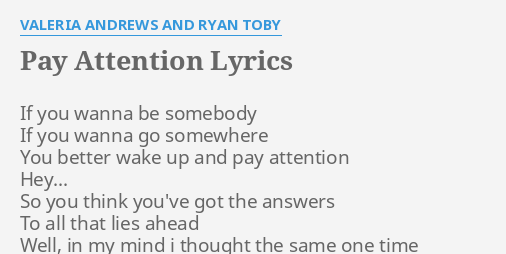 if you want to be somebody lyrics