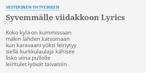 karavaani lyrics