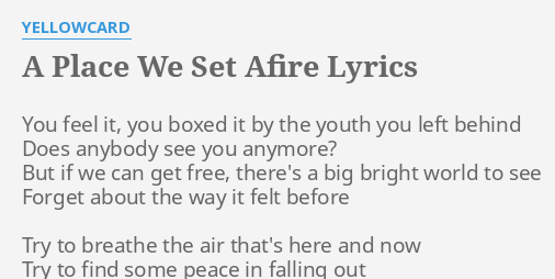 we are the ones the ones you left behind lyrics